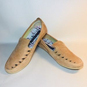 Oliberte Tan Leather Loafers Made in Africa